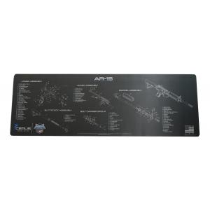 PSA Custom Rifle Cleaning Mat, Charcoal -