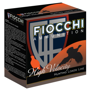 Fiocchi High Velocity .410 3″ 11/16 oz. #6 25 Rounds Ammunition – 410HV6