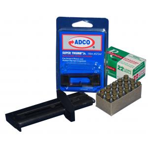ADCO Super Thumb Junior Mod .22lr Polymer Magazine Loader, Black -