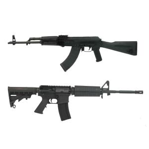PSAK-47 GF3 Classic Polymer Rifle & PSA 16