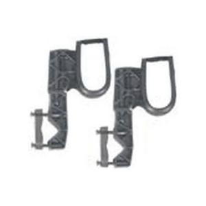 Ranger Rugged Gear Black Nylon Hook ATV Mount Gun Rack, Universal -
