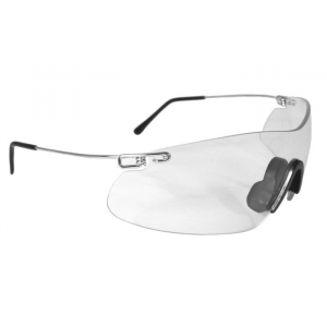 Radians Clay Pro Wraparound Shooting Glasses, Clear Lens - CP5710CS