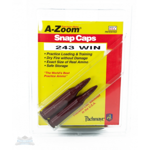 A-Zoom .243 Win Snap Caps 2 Pack 12223