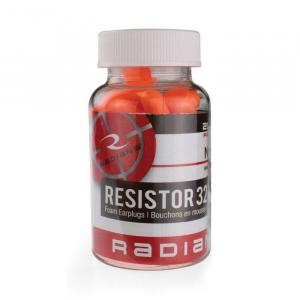 Radians 32 dB Ear Plug, Orange -