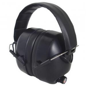 Radians 26 dB Over the Head Electronic Earmuff, Black -