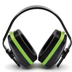 Pyramex Safety VG10 25 dB Over the Head Earmuff, Blue/Green - VGPM1010C