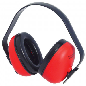 Radians Def-Guard 23 dB Over the Head Earmuff, Red - DF0310HC