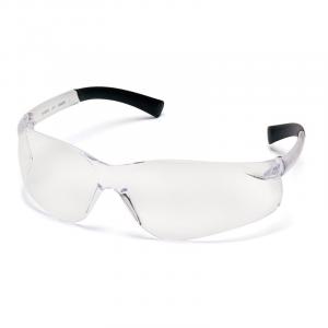 Pyramex Safety Ztek Retail Wraparound Scratch-Resistant Shooting Glasses/Ear Plugs, Clear Lens - PYS2510SDP