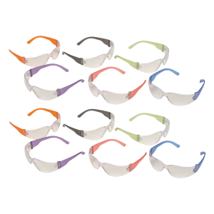 Pyramex Intruder Multi Color Eye Protection, 12 Pairs - S4110MP