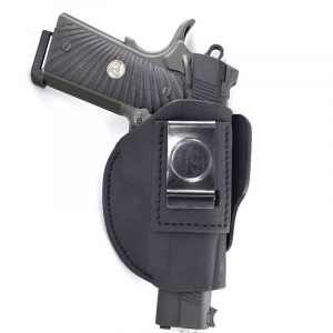 1791 Gunleather Size Right Hand IWB/OWB Concealment 4-Way Holster, Stealth Black -