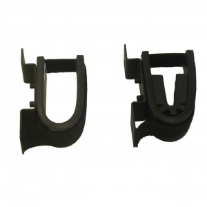 Ranger Rugged Gear Black 14 Gauge Steel Single Hook Screw Mount Gun and Equipment Holder, Universal - 10055