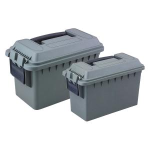 Ranger Rugged Gear Reliant .30/.50 Ammo Box Combo, Green - RRG-1002-3-02
