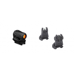 Vortex SPARC AR II Red Dot & Meprolight Tritium Front/Rear Flip-Up Sight Set