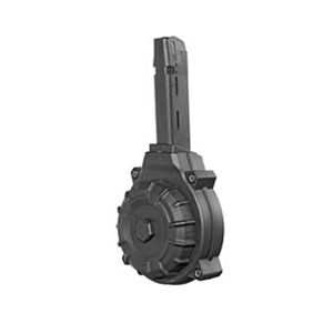 ProMag Glock 22/23/27 .40 S&W 50 Round Drum Magazine, Black - DRM-A19