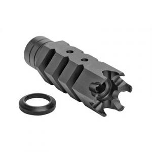 Advanced Technology AR-10 5/8x24 Shark .308 Muzzle Brake, Black - A.5.10.2553