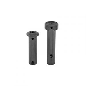2A Armament Takedown Pins Fits AR15, Black Titanium - 2A-TI-TDPBLK
