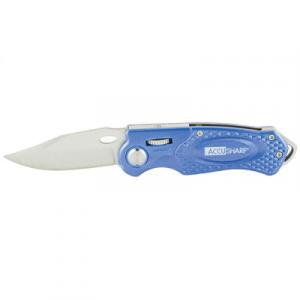 AccuSharp Sport Folding Knife, Blue - 701C