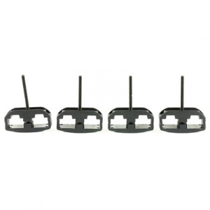 ProMag AR-15 Magazine Clamps, Pack of 4, Black - PM016B