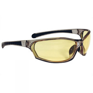 Radians Barrage Anti Fog Shooting Glasses, Smoke - BE0641CS
