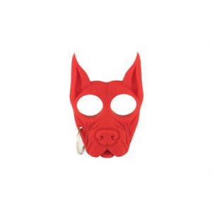 PS Products Spike Key Chain, Red - SPIKE-RD