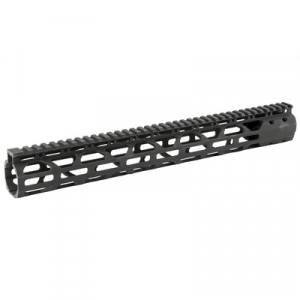 Advanced Technology Slim M-LOK Free Float AR-15 Handguard, Black -