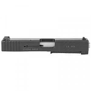 Advantage Arms Glock 19/23 Gen .22 LR Conversion Kit With Barrel, 10 Round Magazine, And Range Bag, Black - AAG19-23