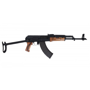 PSAK-47 GF3 Forged Nutmeg Wood Rifle with Cheese Grater Upper Handguard