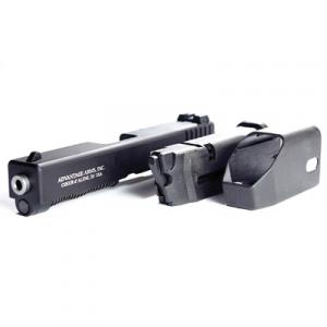Advantage Arms Glock Gen 4 .22 LR Conversion Kit With Barrel, 10 Round Magazine, And Range Bag, Black -