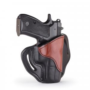 1791 Gunleather BH2.1 Right Hand Glock 17 OWB Open-Top Multi-Fit Holster, -