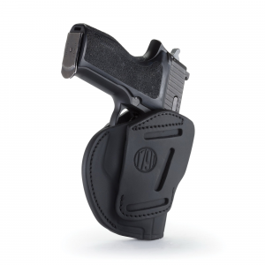 1791 Gunleather 3WH-4 Ambidextrous Springfield XD OWB Open-Top Concealment 3-Way Holster, -