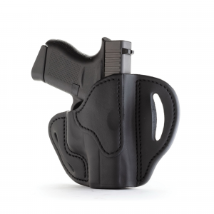 1791 Gunleather BHC Right Hand Glock 43 OWB Open-Top Compact Holster, -