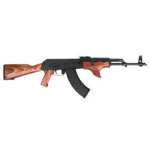 PSAK-47 GF3 Forged Wood Shark Fin with Cheese Grater Upper Hand Guard Rifle -