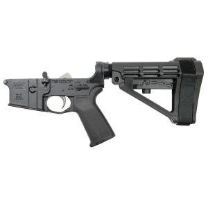 PSA AR15 Complete MOE EPT Lower, Black