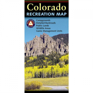 Benchmark Recreation Map: Colorado