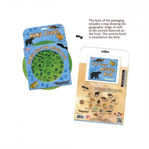 Animal Tracks Ultimate Flyer & Activity Book