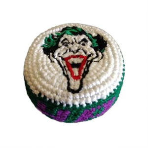 Embroidered Footbag Super Hero