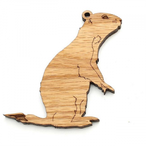Prairie Dog Standing Ornament