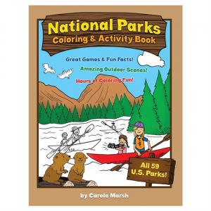 America's National Parks Coloring & Activity Book
