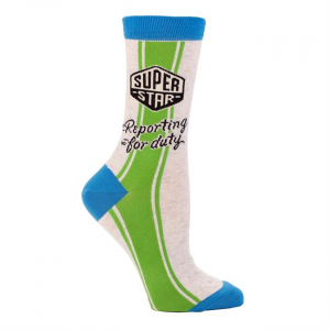 Women's Superstar Crew Socks