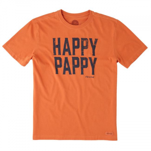 Men's Happy Pappy Crusher Tee Short Sleeve