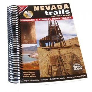 Nevada Trails Spiral Bound: Southern Region