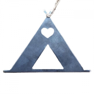 Tent Camping Love Ornament