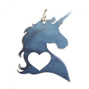 Unicorn Love Ornament
