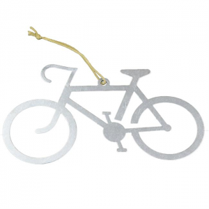 Bicycle Love Ornament