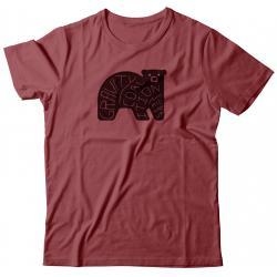 Gravity Coalition Word Bear Tee Shirt - Women's