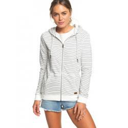 Roxy Trippin Stripes Zip-Up Hoodie - Women's