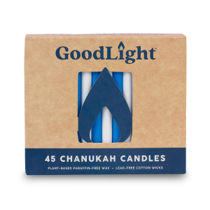 Image of Goodlight Chanukah Candles - Blue & White