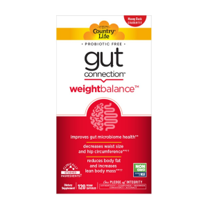 Image of Country Life Gut Connection Weight Balance 120 vcaps
