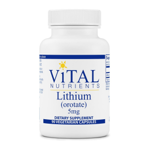Image of Vital Nutrients Lithium (orotate) 5mg 90 vcaps