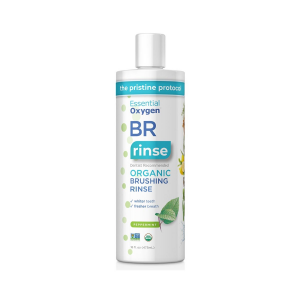 Image of Essential Oxygen Organic Brushing Rinse - Peppermint 16oz